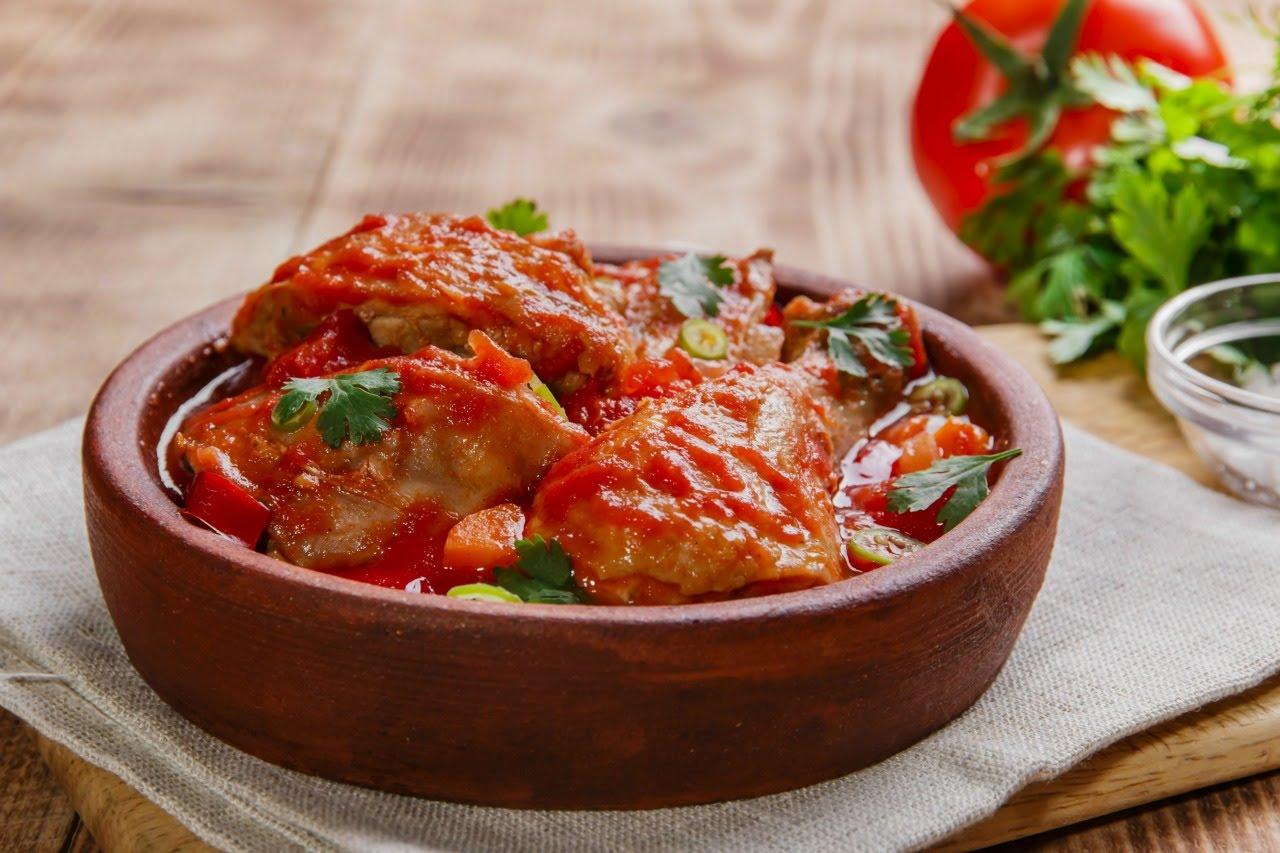 Чахохбили из курицы по-грузински пошаговый рецепт в скороварке