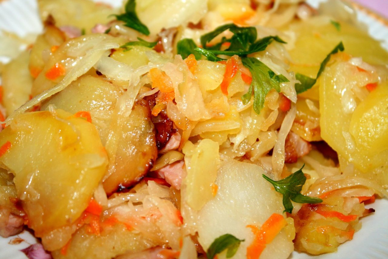 что приготовить с картошкой и с капустой