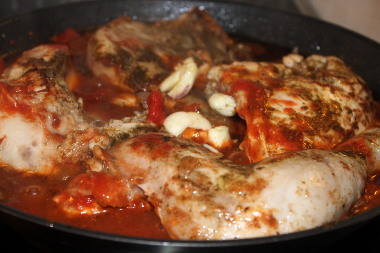 Рецепт чахохбили из курицы в домашних условиях
