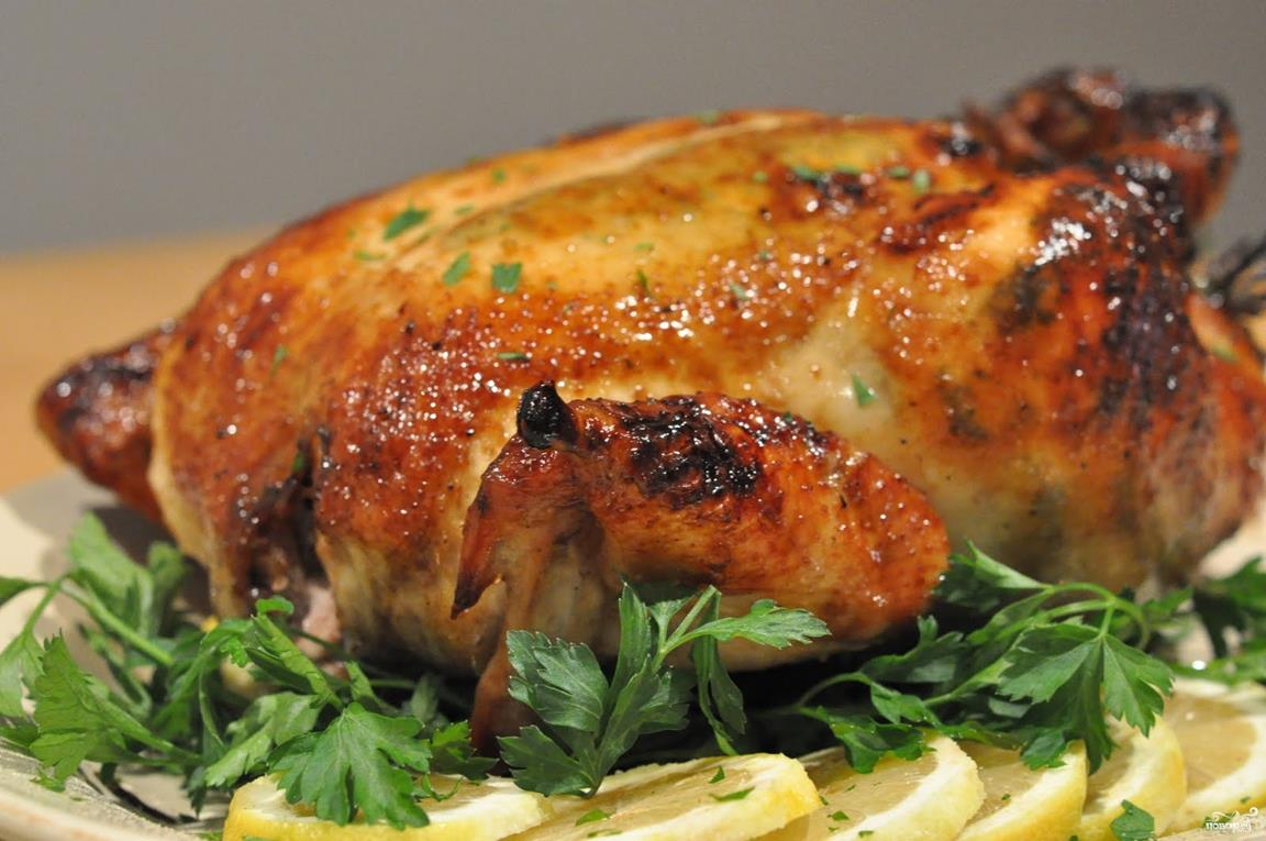 Курица кусочками в духовке с чесноком и майонезом рецепт пошагово