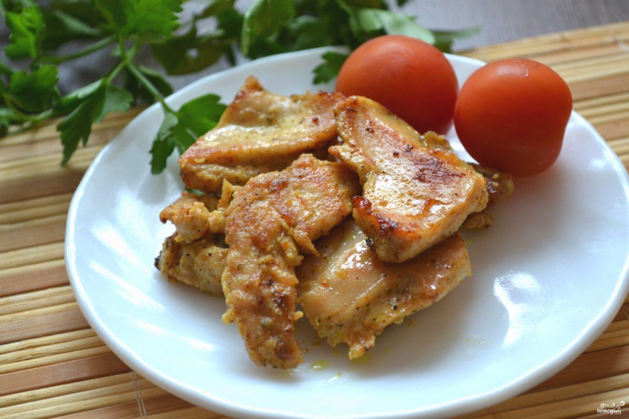 Блюдо из индейки филе рецепт