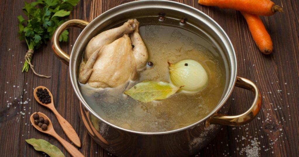 Прозрачный куриный бульон секрет