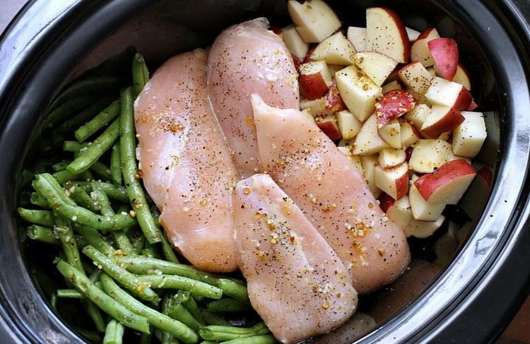 Диетические блюда из куриной грудки в мультиварке