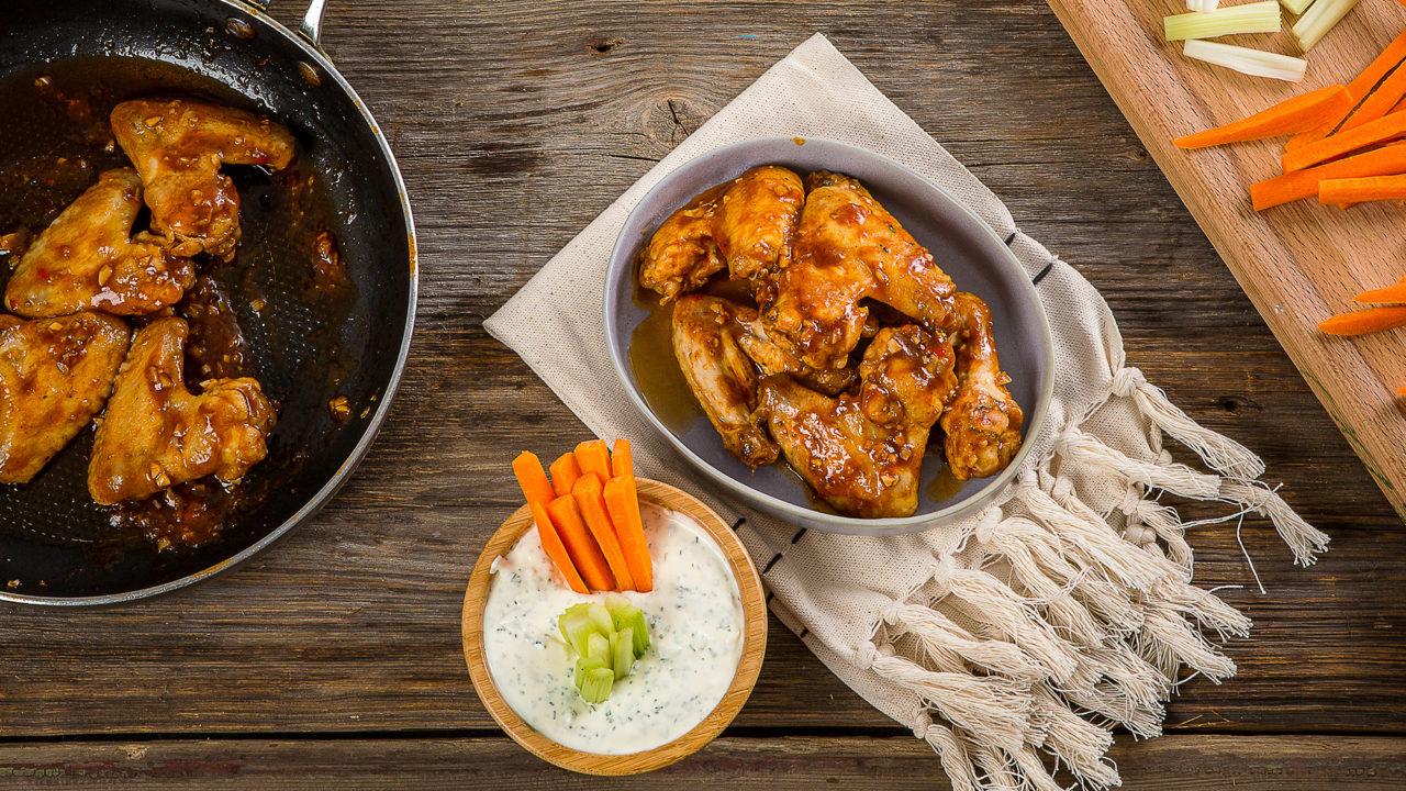 Крылышки Баффало – американское блюдо