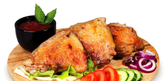 Куриные бёдра на сковороде