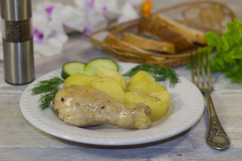 Куриные ножки в мультиварке - рецепт с фото